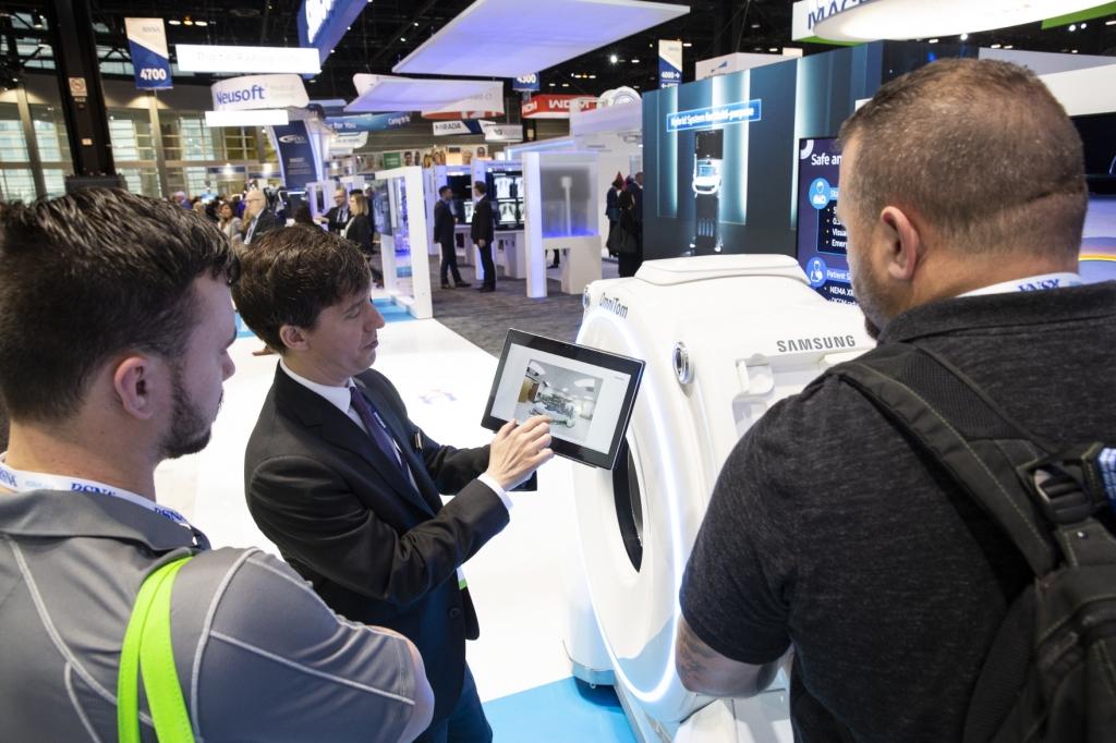 삼성, '북미영상의학회'서 AI 기반 영상진단 보조기능 대거 선보여